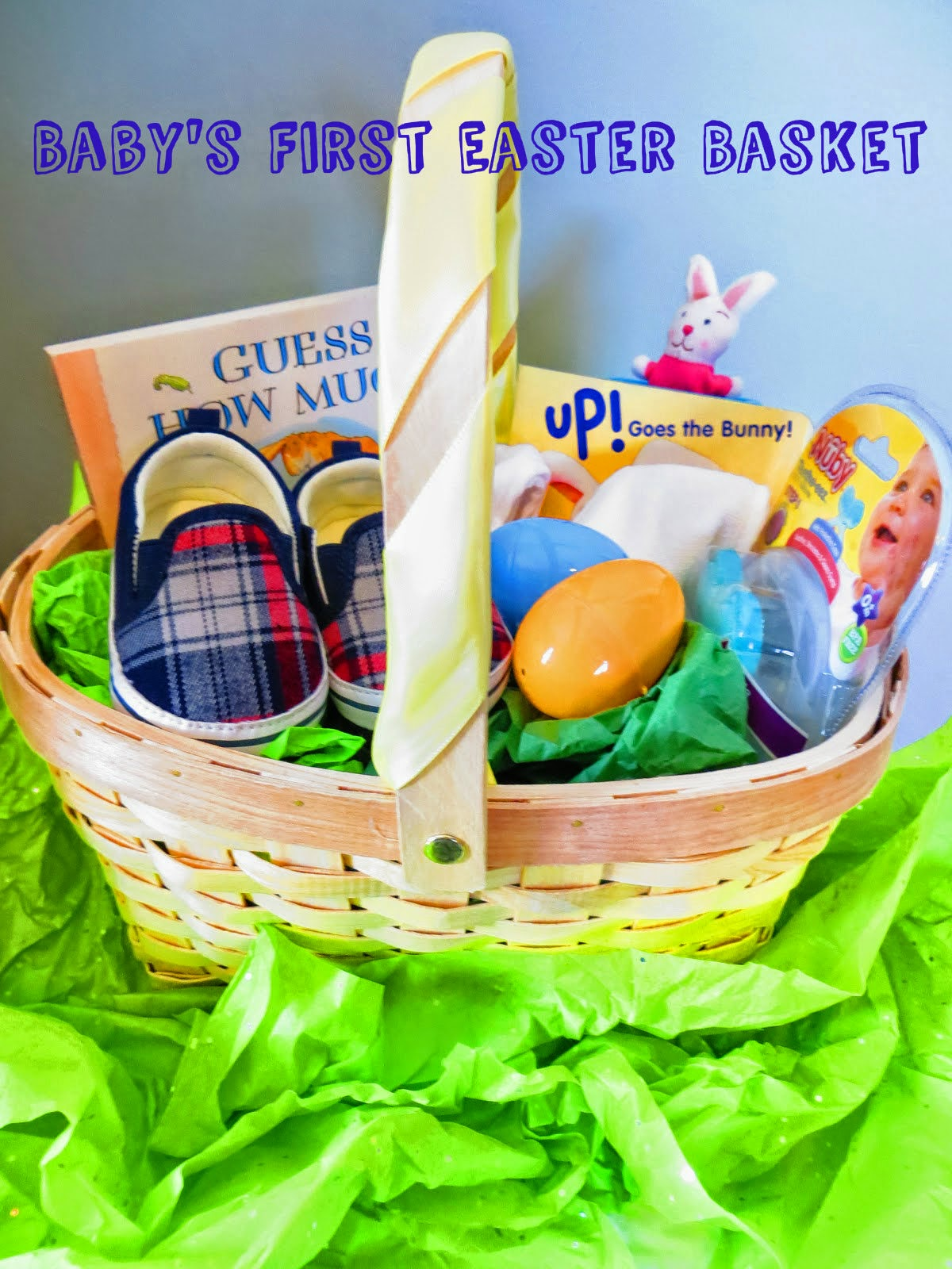 Beautifully Candid: Baby's First Easter Basket