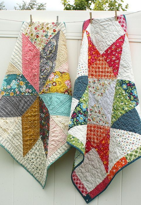 Star Baby Quilt Free Tutorial