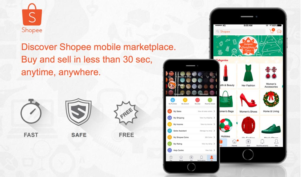 Shopee PH will help save your time in shopping this Christmas