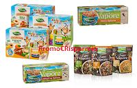 Logo Valfrutta buoni sconto di ottobre: Zuppe al vapore, Triangolini, Farro e Lenticchie