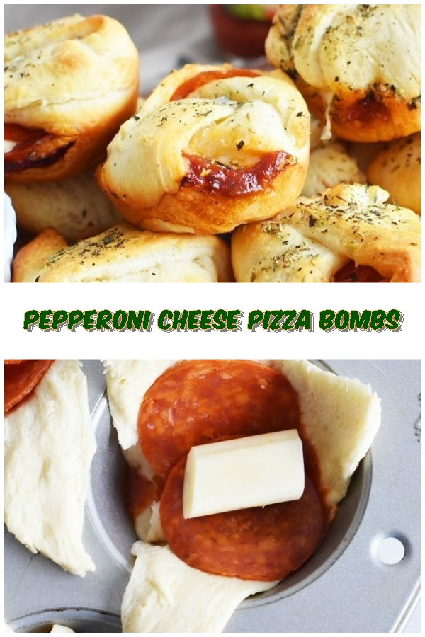 #Pepperoni #Cheese #Pizza #Bombs #chickenrecipes #recipes #dinnerrecipes #easydinnerrecipes