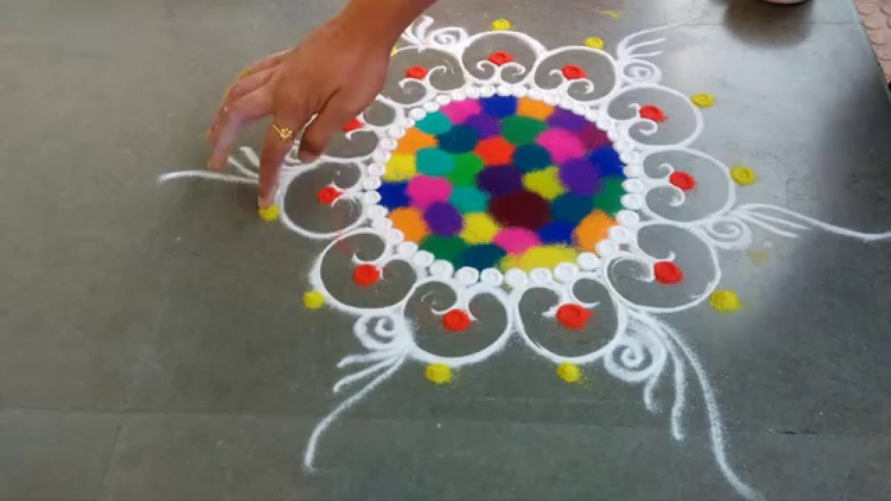 Rangoli design! Art Magazine