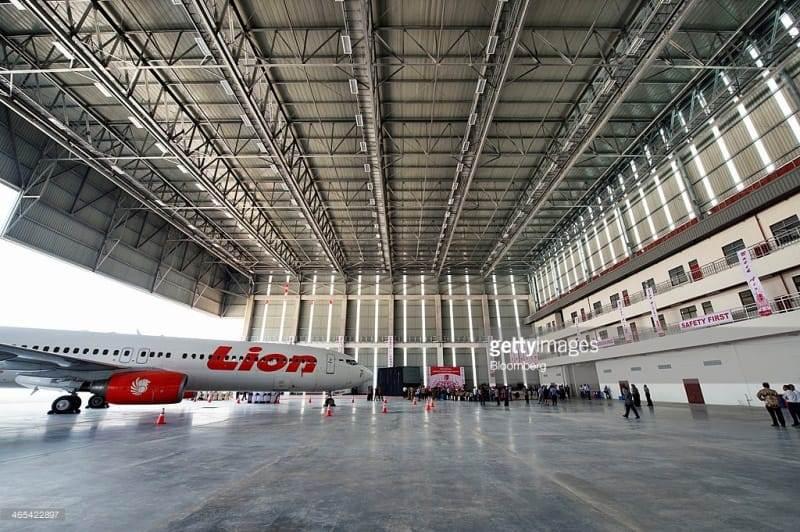 Penumpang Turun, Lion Air Group  Mengandangkan Sedikitnya 15 Unit Pesawat di Hanggar Hang Nadim