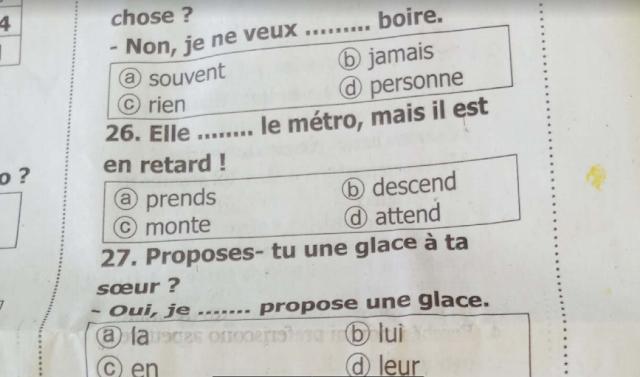 توقعات جريدة الجمهورية فى اللغة الفرنسية بالاجابات للصف الثالث الثانوى 2021