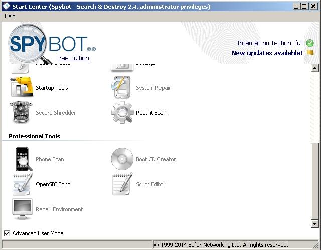 Spybot - Solo Nuevas