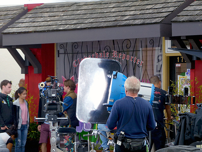 As Part Of The On Location Filming The Stars And Production Crew Of Rufus 2 Took Over Several Locations In Cloverdale Where A Handful Of Businesses