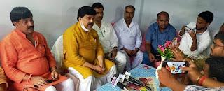#JaunpurLive वक्फ़ जमीनों से अवैध कब्जा हटाया जायेगा: हैदर अब्बास चाँद