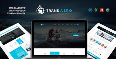 TransAero v1.0 – Transport & Logistics WordPress Theme