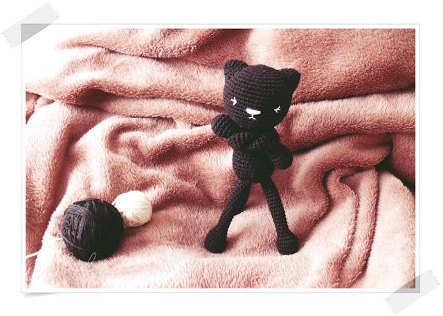 Szydełkowy kot amigurumi