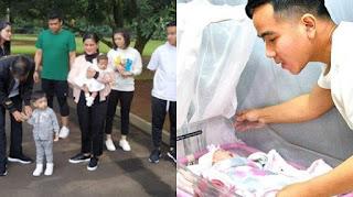 Cucu Ketiga Jokowi Telah Lahir Diberi Nama La Lembah Manah