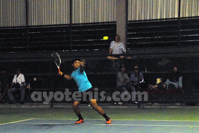 Gugun Borong Gelar Juara Kejurnas Tenis Piala Bupati Tulungagung