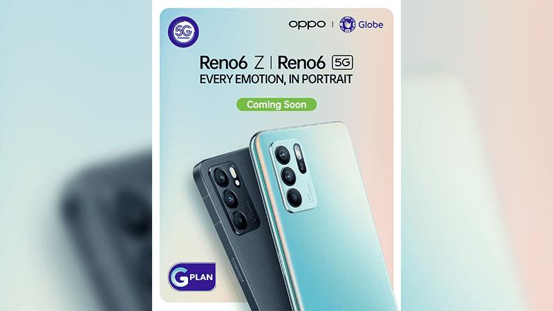 OPPO Reno6 series to arrive in Globe GPlan?