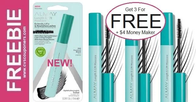 FREE Almay Length & Lift Mascara at CVS