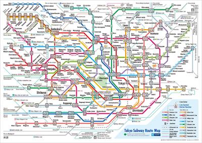 metropolitana tokyo come muoversi