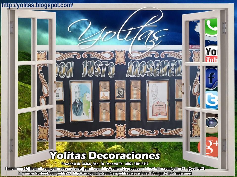 Yolitas Decoraciones Mural Con Marcos Para Escuelas Y Colegios