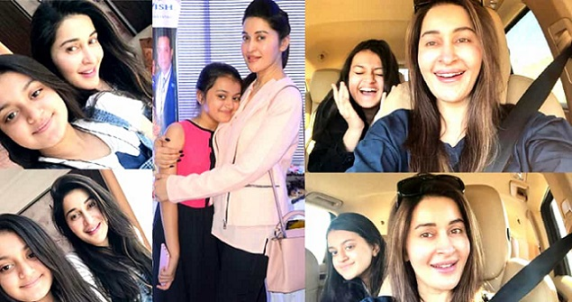 Beautiful Pictures of Shaista Lodhi With Her Daughter