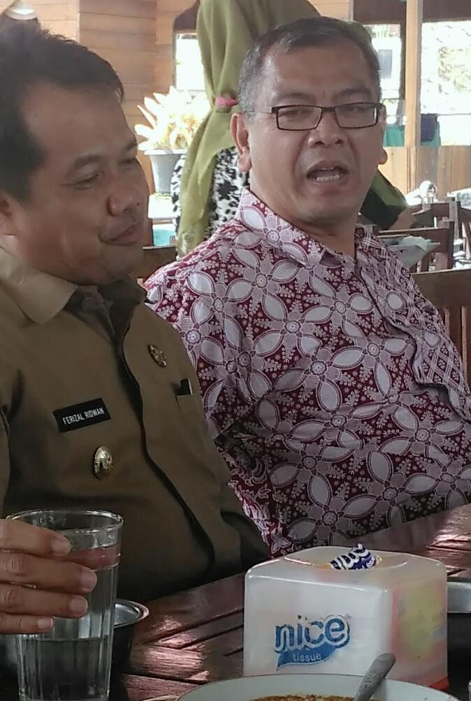 Rencana Masa Depan Untuk Mensinergikan Luak Limo Puluah, Ferizal Ridwan Kunjungi Walikota Payakumbuh