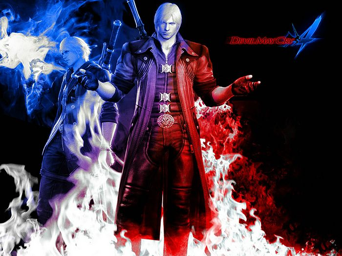 Devil May Cry Dante Wallpaper: Hack Everything: Devil May Cry 4
