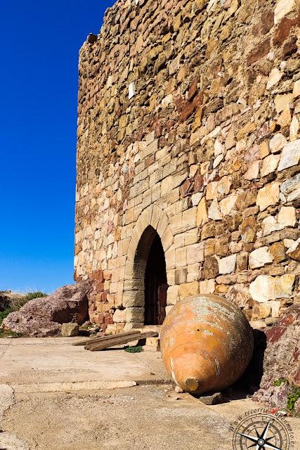 Interior del castillo de Montizón