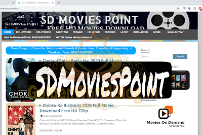 Sdmoviespoint 2020: Download Free HD Movies, Latest Bollywood, Hollywood Sd Movies Point Movies | GoldenWorldBlog.in