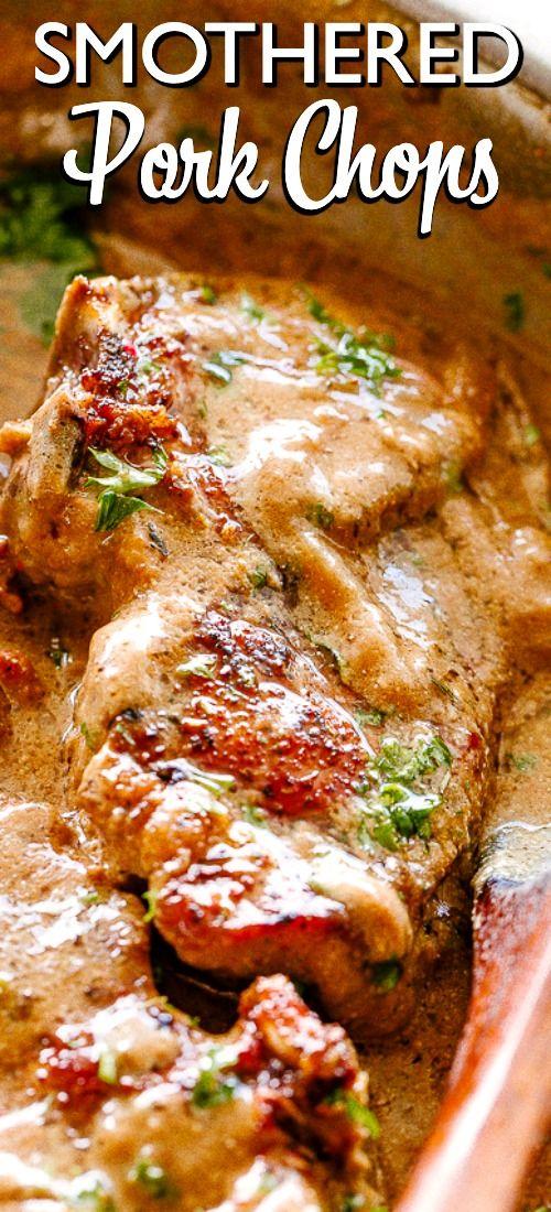 Easy Smothered Pork Chops for Dinner