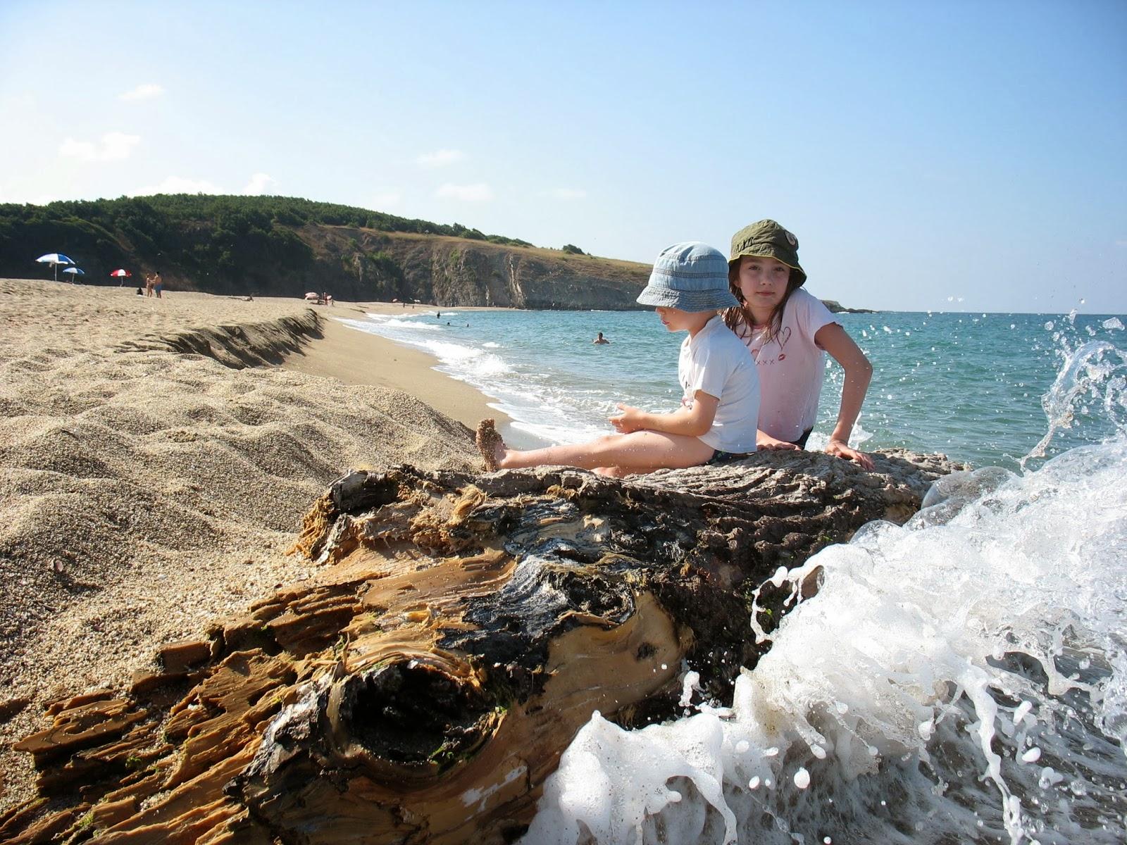 Sinemoretz pláž v Bulharsku