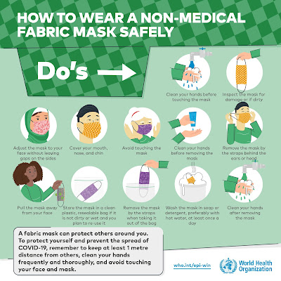 How to wear a non medical mask safely page 2
