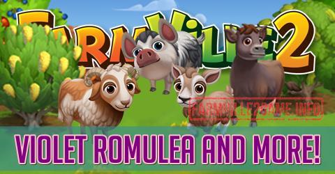 Farmville 2 Violet Romulea