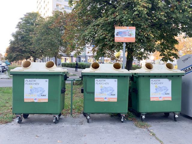 zero waste i segregacja śmieci w Wiedniu