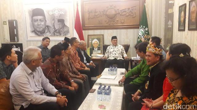 Forum Advokat Pengawal Pancasila Sowan PBNU ajak Bersama kawal Pancasila