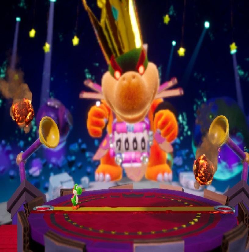 Neko Random: Things I Like: Mega Baby Bowser (Yoshi's Crafted World)