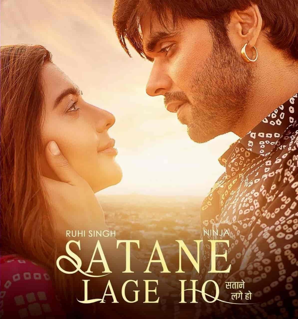 Satane Lage Ho Punjabi Song Image Features Ninja