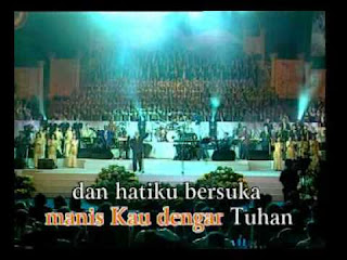 Chord LAgu Rohani : MANIS KAU DENGAR