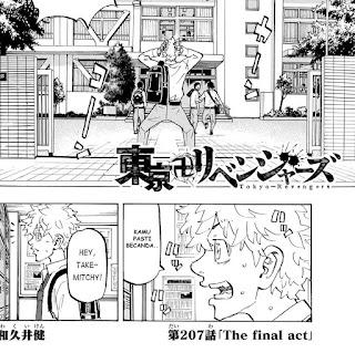 Update! Baca Manga Tokyo Revengers Chapter 207 Full Sub Indo