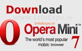 Download new Opera Mini 7 for fast and featured Internet Experience
