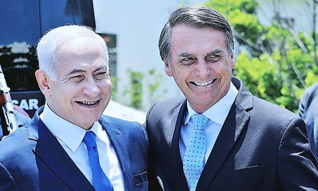 """El primer ministro de Israel, Benjamin Netanyahu, y el presidente electo de Brasil, Jair Bolsonaro, sellaron este viernes en Río de Janeiro una """"nueva alianza"""" que traerá mayor cooperación económica y militar entre ambos países."""