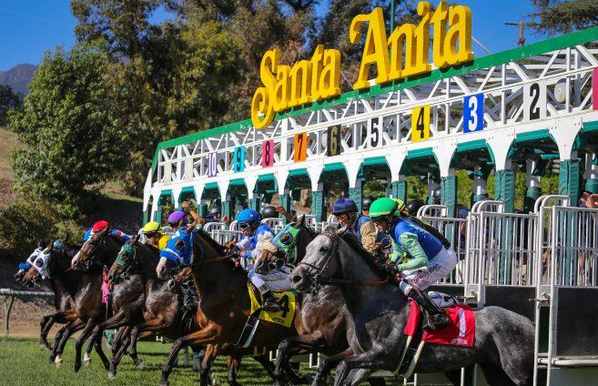 02/10/2020 NUESTARS FIJAS PARA ESTE VIERNES EN SANTA ANITA PARK