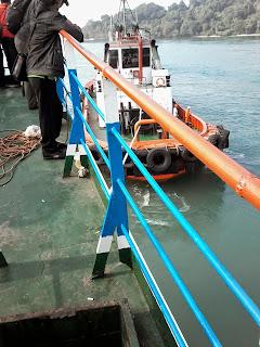 Penyebrangan dengan Kapal Ferry dari Bakauheni ke Merak