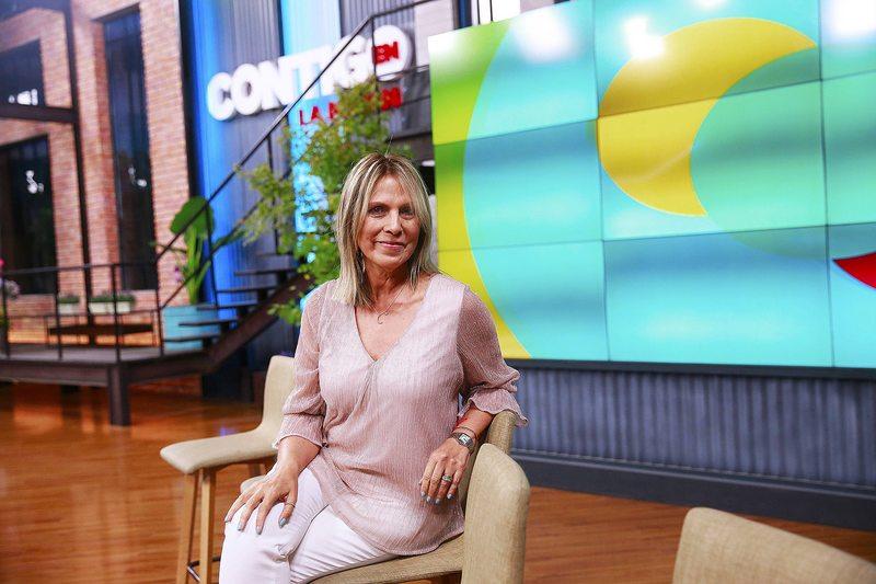 Lily Pérez debutó como panelista matinal