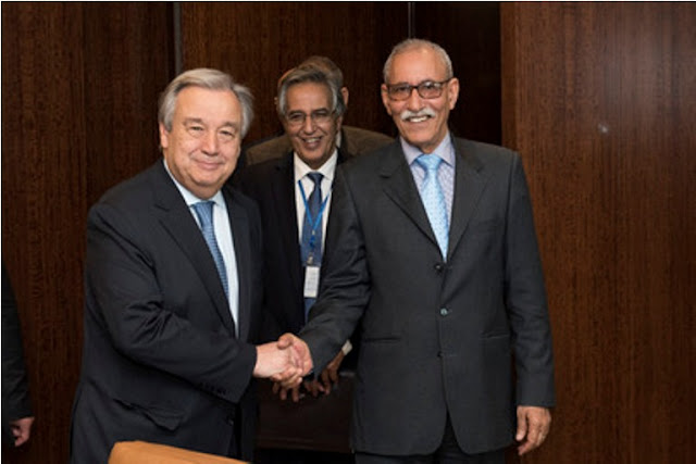 STATEMENT OF THE FRENTE POLISARIO ON UNSG REPORT