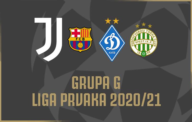 Juventus u grupi G uz Barcelonu, Dynamo Kyiv i Ferencvárosem