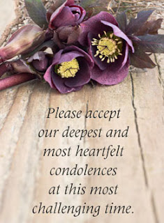Condolence messages