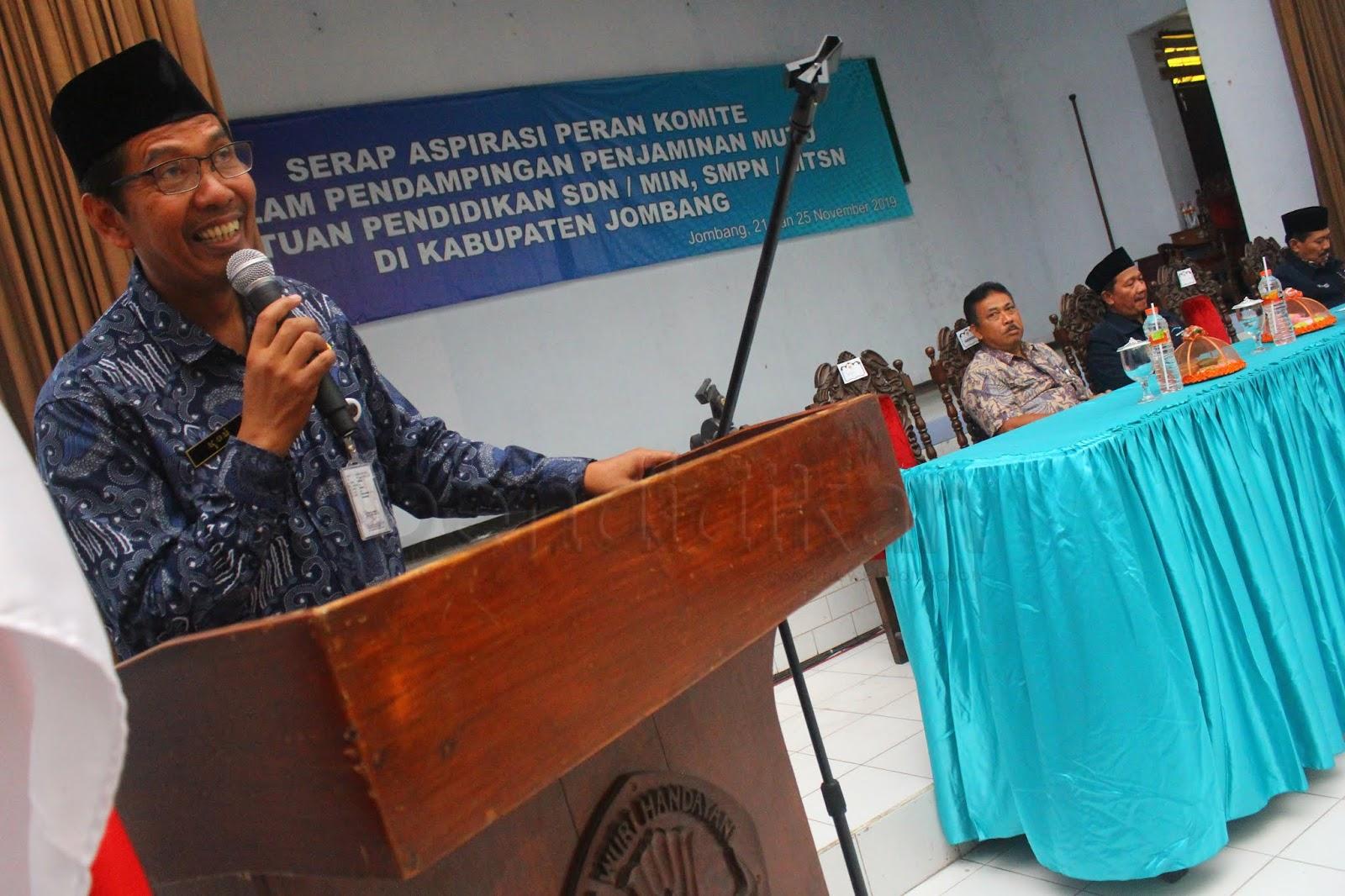 Serap Aspirasi Komite Sekolah Berharap Mutu Pendidikan Semakin Baik