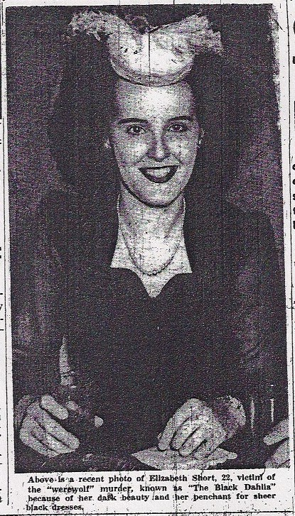 Antebellum Blog Elizabeth Short Was Found Today 67 Years Ago
