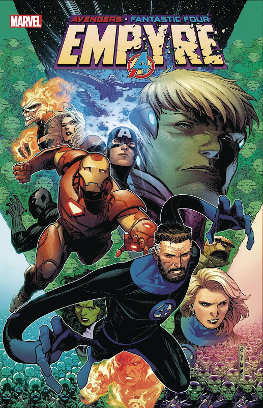 Empyre #1 cover featuring Fantastic Four