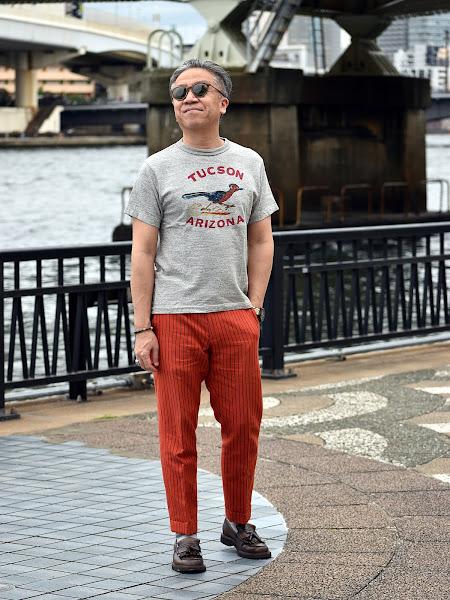40代メンズTシャツのコーディネート