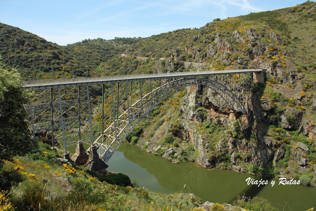 Puente Pino o Puente requejo, río Duero