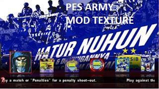 Screenshoot Game Pes Army 2017 Mod Persib Gojek Traveloka Liga 1 Indonesia Terbaru:
