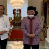Satu jam di Istana, LaNyalla Sampaikan Ketahanan Pangan Hingga Penguatan DPD RI