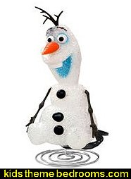 Disney® Frozen EVA Lamp - Olaf  Frozen theme Elsa bedroom - Elsa theme bedroom ideas - princess Disney Frozen - Winter theme decorations -  Frozen room decorating ideas - Disney Frozen themed decor - Queen Elsa Frozen theme bedroom decor  - Disney Frozen bedroom decorating ideas - snow queen bedroom ideas